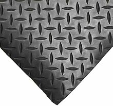 Checker Plate Gummi Fußmatte Garage Bodenbelag