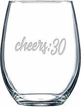 Cheers:30 Weinglas ohne Stiel