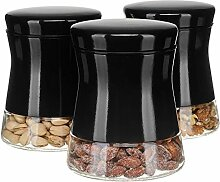 Chef Vantage Glas-Vorratsdosen-Set für die