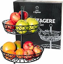 Chefarone Obst Etagere 30 cm - Obstschale Metall
