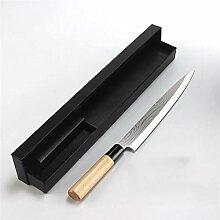 Chefmesser Laser Damaskus Lachs Sushi Messer