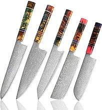 Chefmesser Sets Küchenmesser Set - 5 Stücke