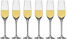 Chefoh Champagnerflöten, Kristallgläser, ideal