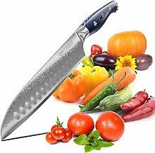 CHEFS KNIVES Santoku Messer Damast Pure Sushi