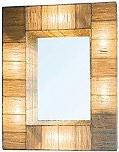 Chehoma XD Beleuchteter Spiegel, 75 x 60 cm,