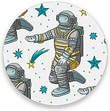 CHEHONG Saugfähige Getränkeuntersetzer Astronaut