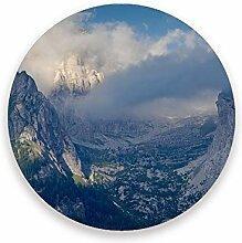 CHEHONG Saugfähige Getränkeuntersetzer Dolomiten