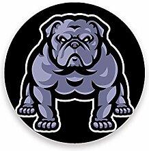 CHEHONG Saugstarke Getränkeuntersetzer Bulldogge