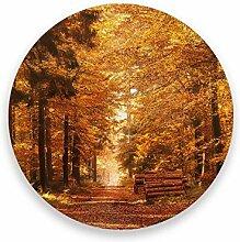 CHEHONG Saugstarke Getränkeuntersetzer Herbstwald