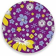CHEHONG Saugstarke Getränkeuntersetzer lila gelb