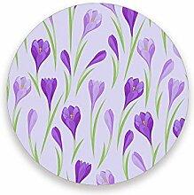 CHEHONG Saugstarke Getränkeuntersetzer lila