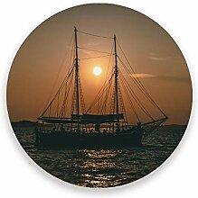 CHEHONG Saugstarke Getränkeuntersetzer Segelboot