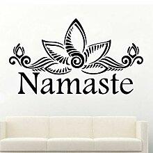 Chellonm Abnehmbare Namaste Tapete Dekoration