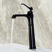 CHEN Küchenarmatur Becken Wasserhähne Schwarz