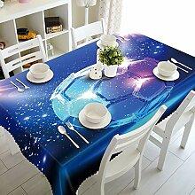 Chen Tischdecken Runde Tischdecke Volltonfarbe