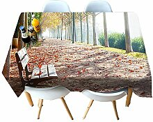 Chen Tischdecken Tischdecke Stoff 3D Nordic