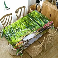 Chen Tischdecken Tischdecke Stoff Baumwolle Leinen