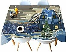 Chen Tischdecken Tischdecke Stoff Baumwolle Und