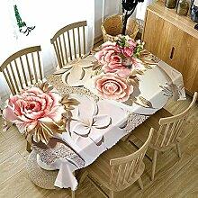 Chen Tischdecken Tischdecke Stoff Baumwolle