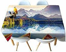 Chen Tischdecken Tischdecke Stoff Europäischen