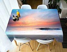 Chen Tischdecken Tischdecke Stoff Garten Stuhl