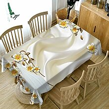 Chen Tischdecken Wasserdichte Tischdecke Stoff