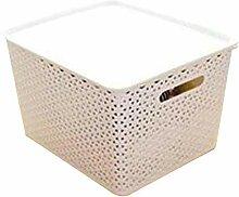 CHENGGUO 24L / 15L / 5L Aufbewahrungsbox 3er-Pack,