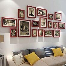 Chenglian Bilderrahmen-Set Fotowand-Collage Große