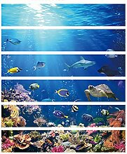 CHengQiSM 3D Treppensteiger Unterwasserwelt