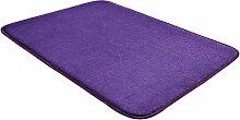 CHENGYANG Teppich Uni memory foam bath Matte