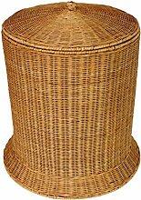 CHENGYI Gelb Bambus Rattan Dirty Clothes Basket Wäschekorb Dirty Clothes Lagerung Korb Finishing Der Korb Natürliche Pflanze Rebe Pure Hand Weaving