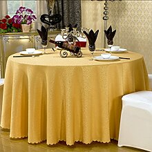CHENGYI Gelb Einfarbig Polyester Tischdecke