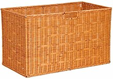 CHENGYI Gelb Rattan Lagerung Korb Schutt Korb Spielzeug Lagerung Korb Weben Trümmer Körbe Natürliche Pflanze Rebe Pure Hand Weaving