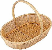CHENGYI Gelb Rattan Sammlung Korb Bambus Korb Hand Warenkorb Warenkorb Kaufen Ein Korb Natürliche Pflanze Rebe Hand Made