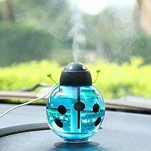 CHENGYI Kreativer Art- und Weisemini-Luftbefeuchter-Nachtlicht-Nachtlampen-Auto-USB-Notenschalter-Kinderzimmer-Studie-Lampe