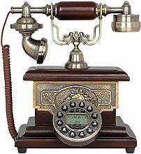 CHENGYI Retro Style Retro Telefon Kreative Home Office Festnetz