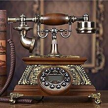 CHENGYI Retro-Telefon-Büro im europäischen Stil im alten Stil Kreative Festnetz