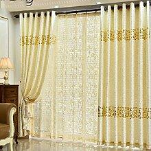 CHENGYI Veloursleder Gold Farbe voller Schatten