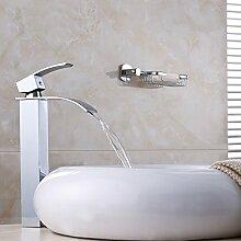 ChengZi Einloch führende Kupfer kalte Waschbecken Waschbecken wasserhahn Bad waschen Sie Gesicht Taiwan Becken, hohe Sitzbank pan
