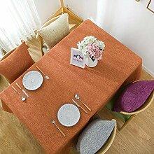 ChenHui Baumwolle Leinen Tischdecke Tisch Tuch
