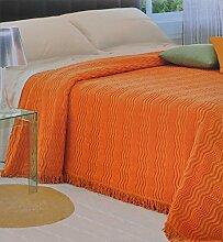 Chenille-Bettüberwurf für Doppelbett 260x270 cm