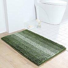 Chenille farbe anti-rutsch badezimmer teppich
