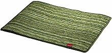 Chenille Grün 50x75cm Heizteppich Elektroheizung
