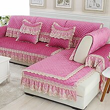 Chenille Sofa Handtuch/Einfache Moderne Sofa-matte/Sofa Setzt/Sofabezug/Sofa-handtuch/European Style Sofa Pad-C 100x160cm(39x63inch)