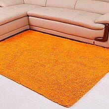Chenille-Teppich/Moderne Wohnzimmer Schlafzimmer Tür Verdickung Teppich/ Sanitär weinselig Anti-Rutsch-Fußmatten-C 120x170cm(47x67inch)