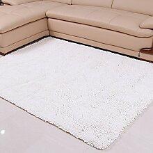 Chenille-Teppich/Moderne Wohnzimmer Schlafzimmer Tür Verdickung Teppich/ Sanitär weinselig Anti-Rutsch-Fußmatten-K 160x230cm(63x91inch)
