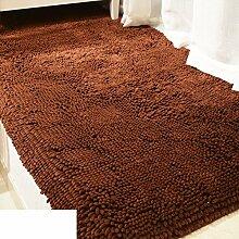 Chenille-Teppich/Schlafzimmer Nachttisch Teppiche/Teppichboden Teppiche für Kinder/ Kissen Sofa im Wohnzimmer-I 80x160cm(31x63inch)