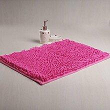 Chenille-Teppich/Wohnzimmer-Sofa-Bett Schlafzimmer Teppich/Erker Kissen-K 100x200cm(39x79inch)