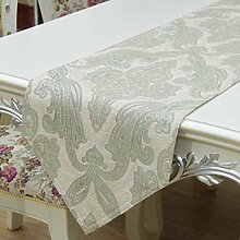 Chenille Tischläufer/Tischdecken/nach Hause Nähen/Bett Renner/Tisch/Tischdecke decke/Abdeckung Tuch-D 33x240cm(13x94inch)
