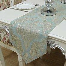 Chenille Tischläufer/Tischdecken/nach Hause Nähen/Bett Renner/Tisch/Tischdecke decke/Abdeckung Tuch-C 33x240cm(13x94inch)